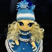 """Интерьерная куколка """"Снегурочка"""""""