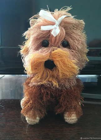 Собака  Линда ручной работы на заказ