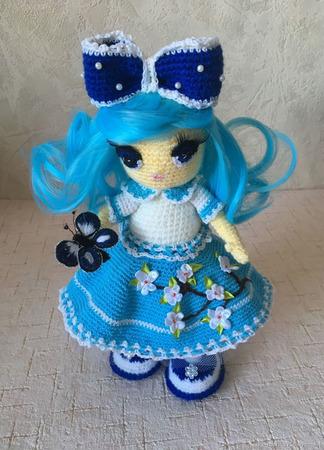 Кукла Интерьерная Мальвина ручной работы на заказ