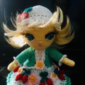 Интерьерная ягодная кукла Анечка