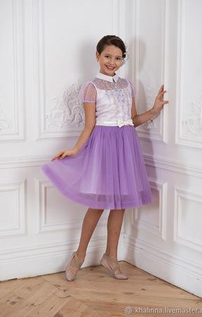 """Платье """"Синель"""" с бисерной вышивкой ручной работы на заказ"""