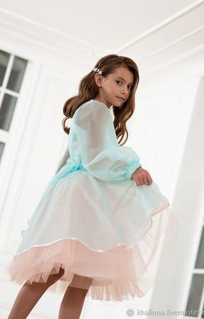 """Платье дизайнерское """"Мальва"""" ручной работы на заказ"""