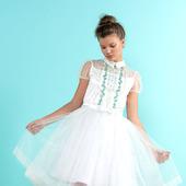 """Платье """"Айвори"""" с вышивкой"""
