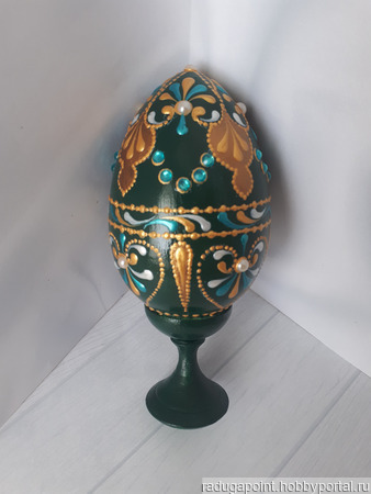 Сувенирное пасхальное яйцо ручной работы на заказ