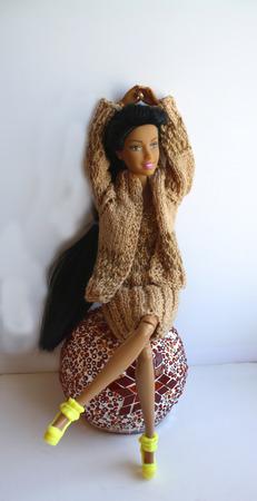 Комплект одежды для куклы ручной работы на заказ
