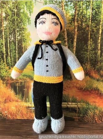 Кукла Эдвард ручной работы на заказ