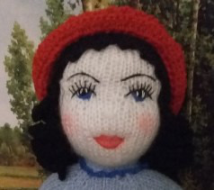Красная Шапочка в национальном французском костюме ручной работы на заказ