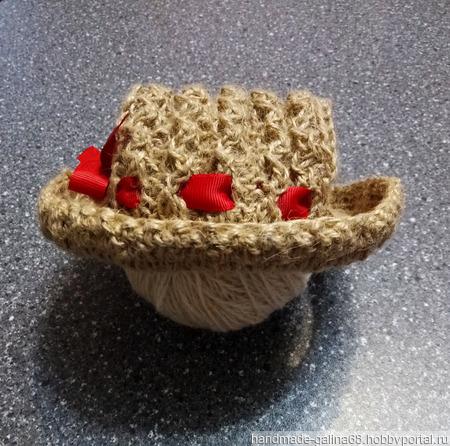 Шляпка для питомца ручной работы на заказ