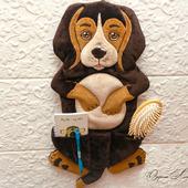 Собачка с кармашком - для мелочей