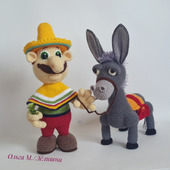 Мексиканец и Ослик