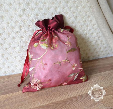 """Мешочки для подарков """"Цветочные"""" ручной работы на заказ"""