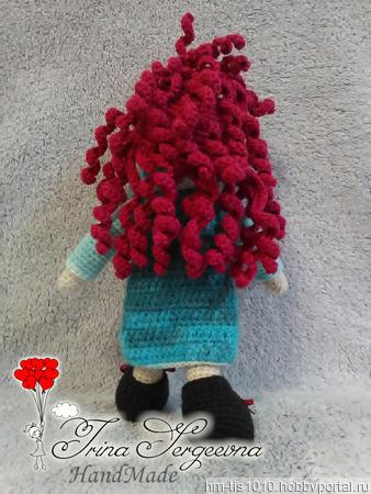 Кукла Иринка ручной работы на заказ