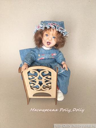 Авторская шарнирная кукла ручной работы на заказ