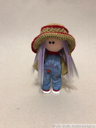 Малышка в шляпе ручной работы на заказ