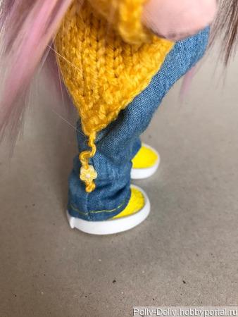 Малышка в штанишках ручной работы на заказ