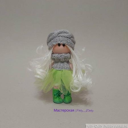 Кукла со стилем ручной работы на заказ