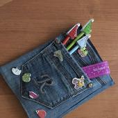 Обложка для школьного дневника (блокнота)
