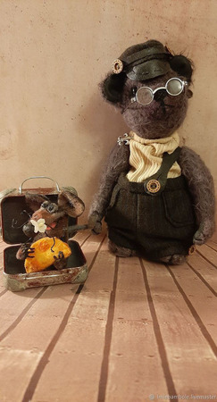 Мишка Тедди: Путь-дорожка... ручной работы на заказ