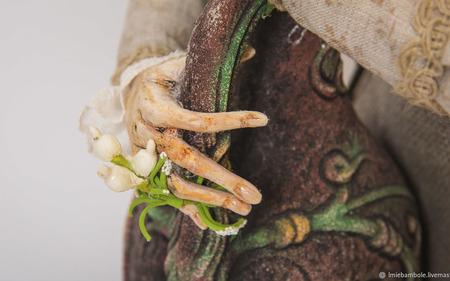 Авторская кукла Хозяйка таверны (la padrona di casa taverne) ручной работы на заказ