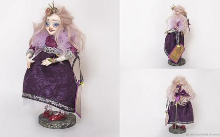 Авторская кукла Монстра Алиска ручной работы на заказ