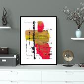 Абстрактный постер (01)
