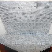 Большой ажурный платок