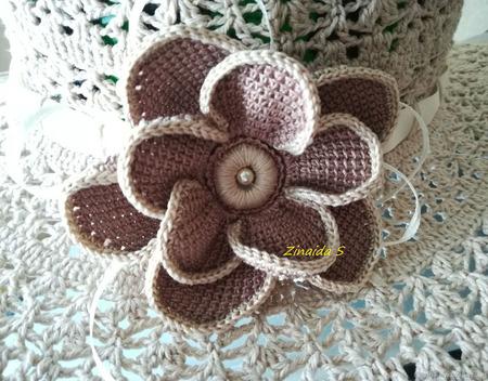 Шляпа с полями ручной работы на заказ
