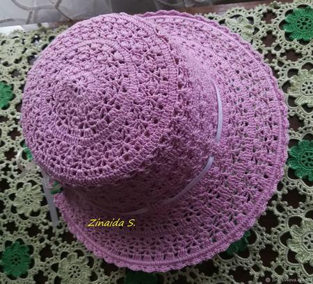 Детская шляпа ручной работы на заказ