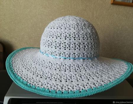Летняя шляпа ручной работы на заказ