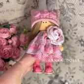 Текстильные интерьерные куклы