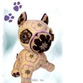 Мастер-класс на игрушку Буль DoGgy из мотива Африканский Цветок