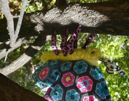 Мастер-класс на игрушку из мотивов Окрылённая Гусенка ручной работы на заказ