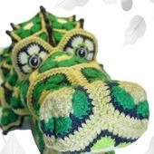 Мастер-класс Африканский Кроха-Дил крокодил из мотивов