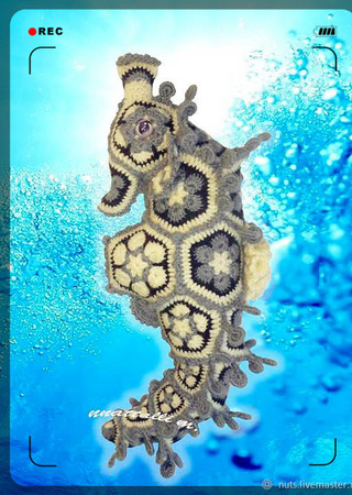 Мастер-класс на игрушку из мотивов Морской конёк - Ко-Няшка ) ручной работы на заказ