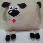 Пес - диванная подушка