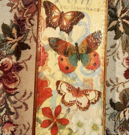 """Шкатулка  """"Полет бабочки """" ручной работы на заказ"""
