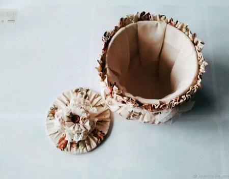 Мешочек для мелочей ручной работы на заказ