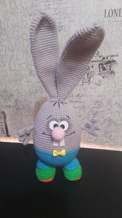Заяц Крош ручной работы на заказ