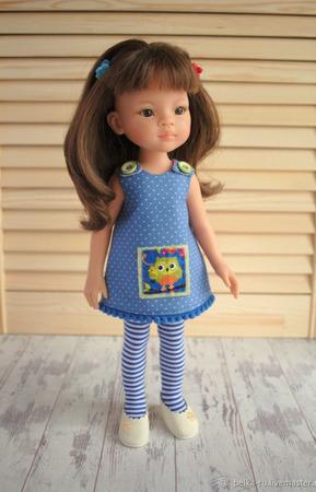 """Комплект для Паолок """"Дочкиной кукле"""" ручной работы на заказ"""