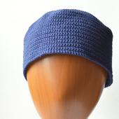 Безразмерная шапка из хлопка