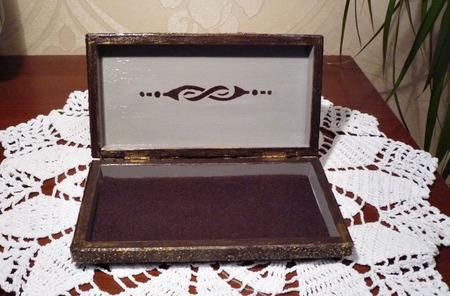Купюрница-шкатулка для денег ручной работы на заказ
