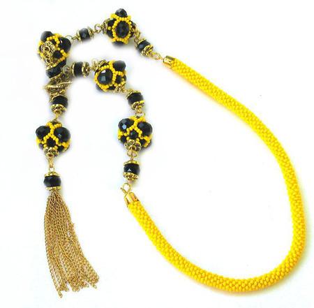 """Ожерелье """"Сарасвати"""" ручной работы на заказ"""