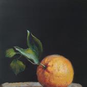"Картина темперой ""Апельсин"""