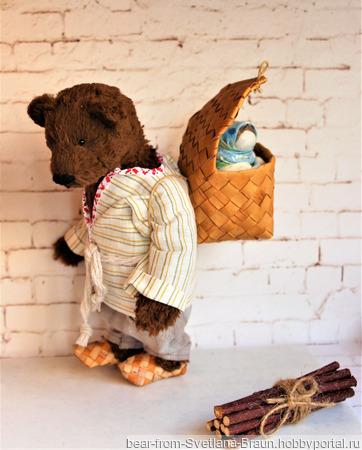Медведь Савелий ручной работы на заказ
