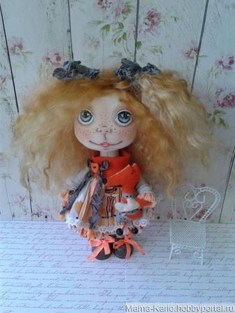 Кукла Лисёна ручной работы на заказ