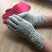 Элегантные, ажурные перчатки