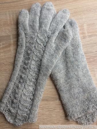 Элегантные, ажурные перчатки ручной работы на заказ