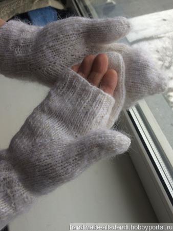 Теплые варежки ручной работы на заказ
