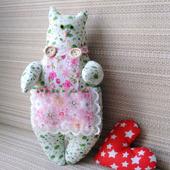 Мягкая текстильная игрушка Киса