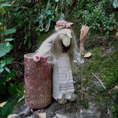Народная кукла-оберег Баба Яга
